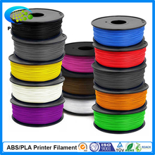 3d printer filament PLA/ABS 1.75mm/3mm 1kg plastic Rubber Consumables Material MakerBot/RepRap/UP/Mendel