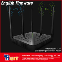 English Firmware!! WIFI Router Wifi repeater 11AC Dual Band 1200Mbs Tenda FH1202 Wireless WI FI Router(China (Mainland))