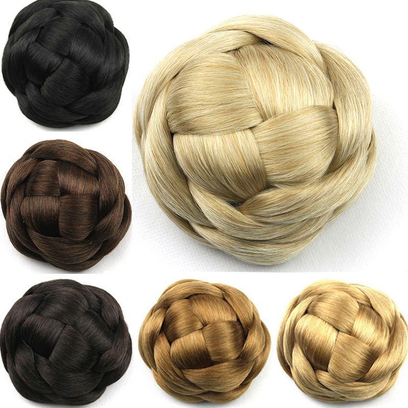 hair bun pieces brown gallery