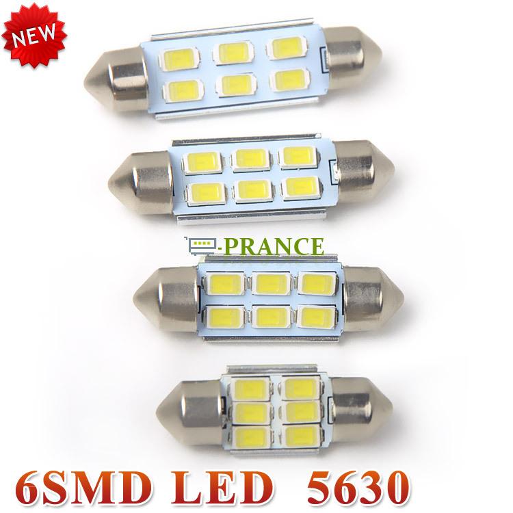 Лампа для чтения E-prance 4pcs/36 39 41 12V 180lm 6 x SMD 5630 #CLED018 лампа для чтения 1 x 401410 12smd 31 36 39 41