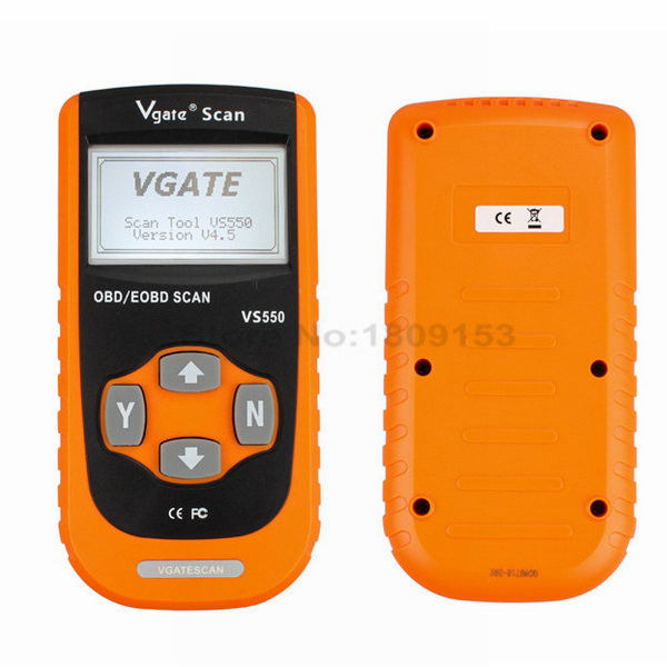 Newest Original Vgate Automotive Diagnostic Scan Tool VS550 Original CAN EODB / OBD2 / OBDII Car Diagnose Code Reader Scanner(China (Mainland))