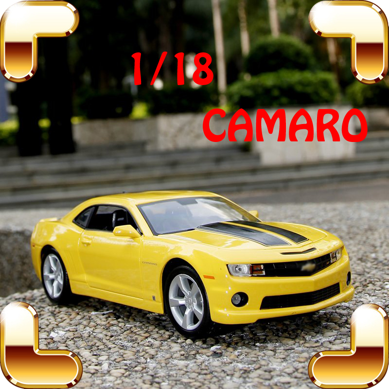 New Year Gift Maisto Camaro 1/18 Metal Model Collection Car Movie Souvenir Alloy Material Decoration Car Fans Favour Present Toy(China (Mainland))