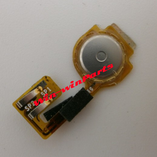 5X Genuine Original OEM Home Button Flex Ribbon Cable w/ Foam Replacement For iPhone 3GS(China (Mainland))