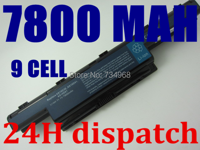 9cell Laptop Battery For Acer GATEWAY NV47H NV49C NV50A NV51B NV51M NV53A NV55C NV59C NV73A NV79C Aspire 5741 5741G 4741G(China (Mainland))