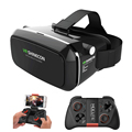 Shinecon VR Virtual Reality 3D Glasses Headset Helmet Video for 3 5 6 0 Smartphone Google