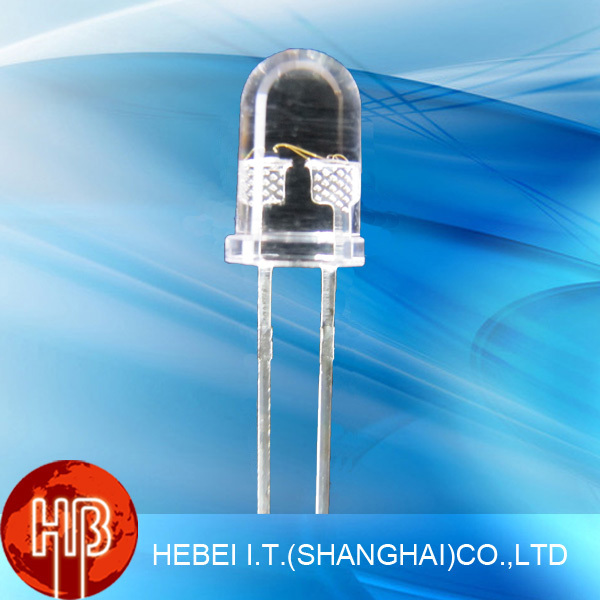 2 Pins Slow Automatic Flash Multi-Color 5mm RGB LEDs Diode 5XRGB-F2-S(China (Mainland))