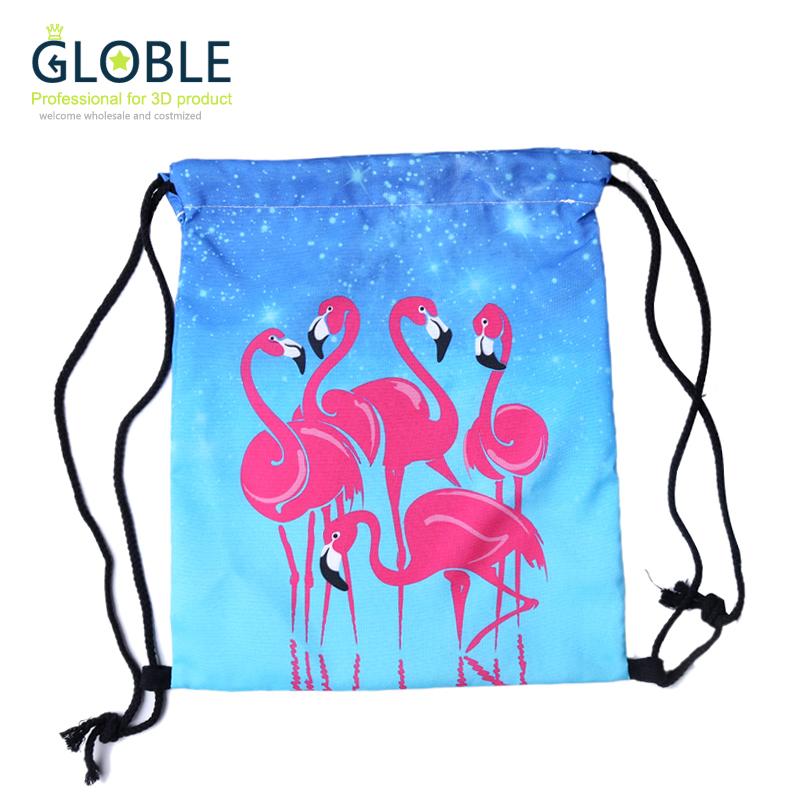 2016 New Drawstring Bag  Women Backpack 3d Printing  softback mochila feminina harajuku unisex backpacks BP006<br><br>Aliexpress