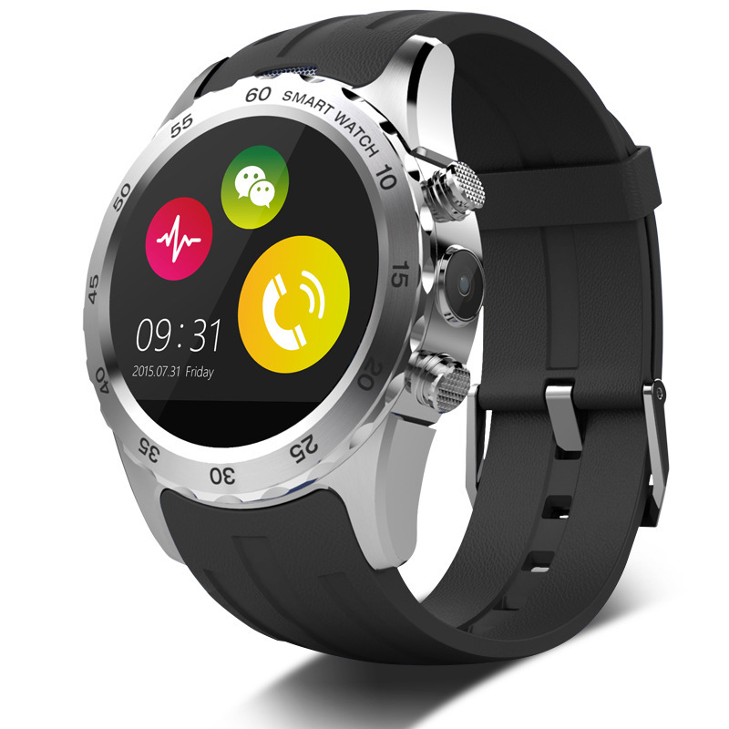 New Bluetooth KW08 Smart Watch reloj inteligente MTK6260 Compatible With Android IOS System 1.22 Inch Support SIM Card NFC(China (Mainland))