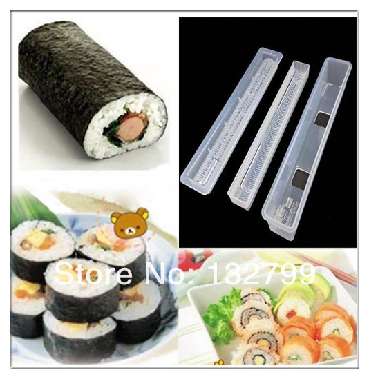 sushi long rouleau maker riz japonais mould rouleau bento mold outil bricolage cuisine dans. Black Bedroom Furniture Sets. Home Design Ideas
