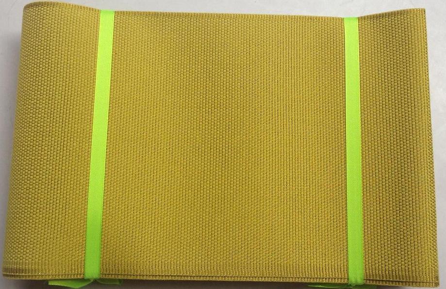 yellow plain chemical aso oke high qulity aso oke headtie(China (Mainland))