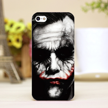 Batman Joker Design Phone Transparent Cover Cases for iPhone 4 5 5c 5s 6 6plus