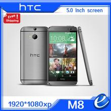 "Original HTC One M8 Unlocked GSM 3G 4G  3 Cameras Android 5.0 6.0 Quad core 2GB 32GB Mobile Phone  5.0"" 4MP refurbished EU ver(China (Mainland))"