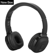 New Bee Upgraded Bluetooth Headphone Sport Headset Stereo Earphone with Mic NFC App Pedometer Earbud Stand Case for Phone PC TV(China (Mainland))