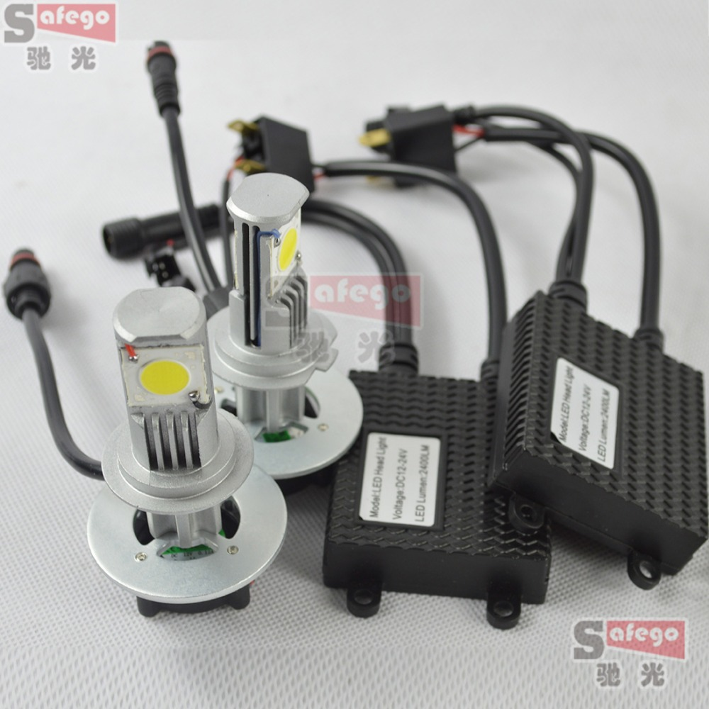 1 set 50w set 25w bulb h7 led headlight kit 2400lm cree 12v lamp h7 led chip fog light driving. Black Bedroom Furniture Sets. Home Design Ideas