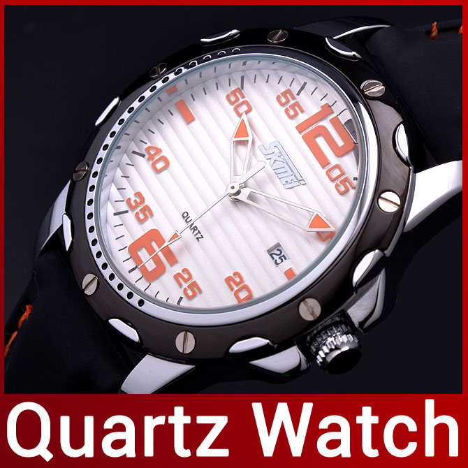 2015 New High Quality Fashion Brand Silicone Strap Men Quartz Watch Dress Watch For Men Analog Sport Wristwatch Water Resistant(China (Mainland))