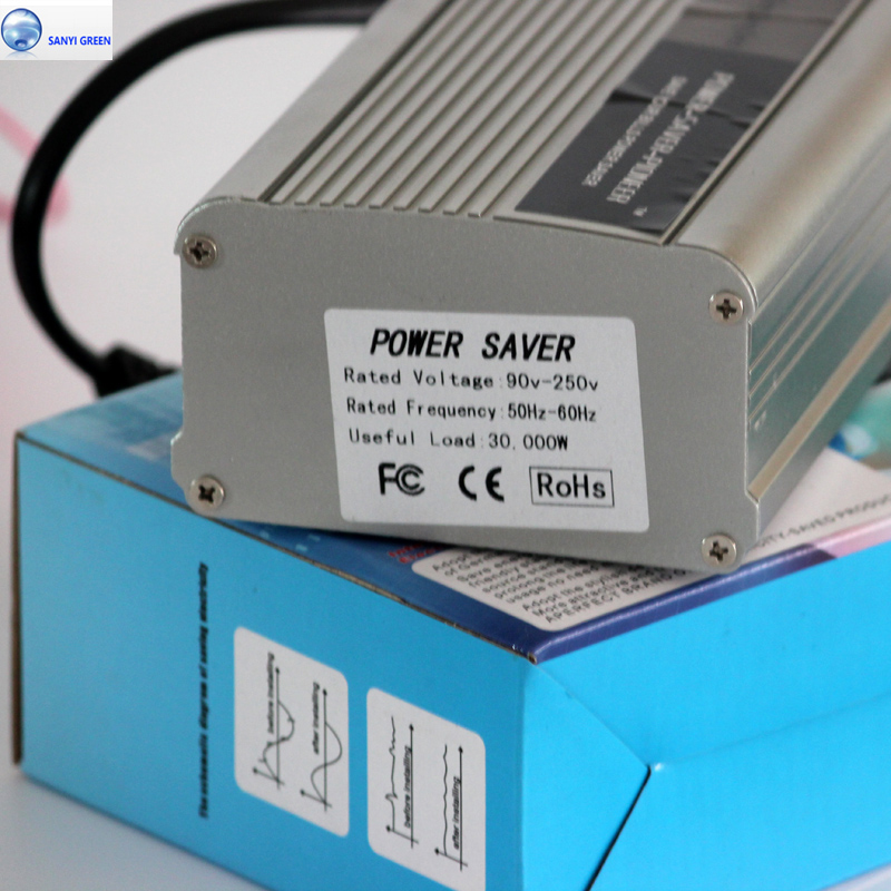 30KW Power Saver Single Phase for Home Electricity Saving Box Free Energy Saving Equipment Economizar Energia +CE
