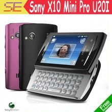 U20 u20i Original Sony Ericsson Xperia X10 mini pro Mobile Phone Unlocked 3G Wifi GPS 5MP Android Smartphone(China (Mainland))