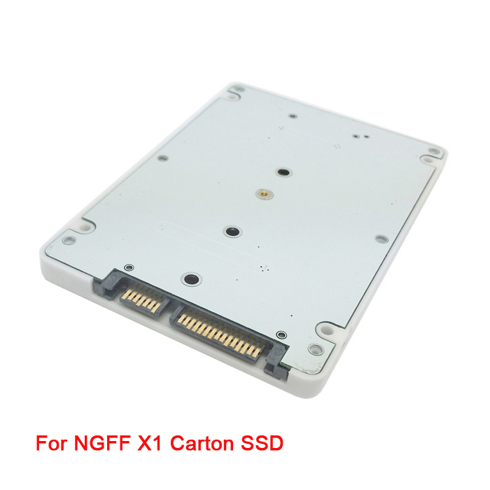 NGFF SATA 20+6PIN to SATA 3.0 2.5 inch Hard Disk Case for Sandisk 45N82 45N8296 45N8422 & SSD Lenovo X1 Carbon Ultrabook(China (Mainland))