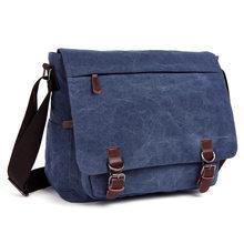 Nuevos bolsos de mensajero para hombres, Bolsa Masculina de moda, bolsos de hombro de viaje, portaobjetos Ordenadores, maletín de lona, Chapeu Masculino(China)