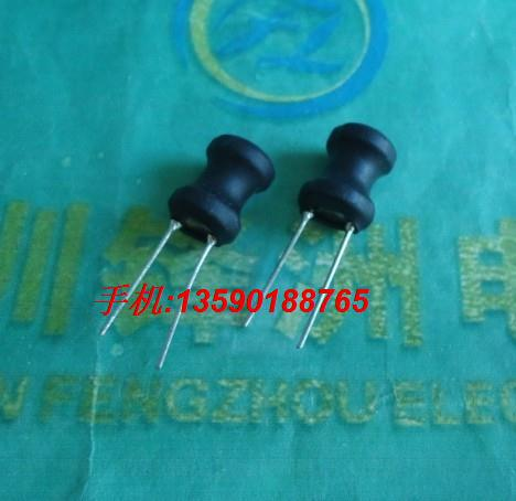 20 pieces lot I inductor 330UH 8 10mm Power inductance Black dip 2 Pitch 5mm