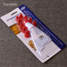 Buy Decorating Conver Cream Bag Tools 10 Mouth Add Piping Bag Piping Suits Gift Bakeware Pastry 03015 for $1.15 in AliExpress store