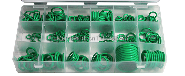 "Гаджет  Free shipping! High Temperature / Set 270PC O-ring Kit Green Metric ""O""-ring Seal Seals Nitrile Rubber None Автомобили и Мотоциклы"