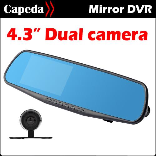 Автомобильный видеорегистратор None DVR dashcam HD1080P 4.3 140 автомобильный видеорегистратор none dvr 100% gs8000l h18b
