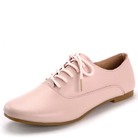 New 2016 Real leather Classic Women Oxfords Shoes Fashion Girls Casual Flats Lace Up Loafers Pointed Toe Driving Shoe Size 35-40(China (Mainland))