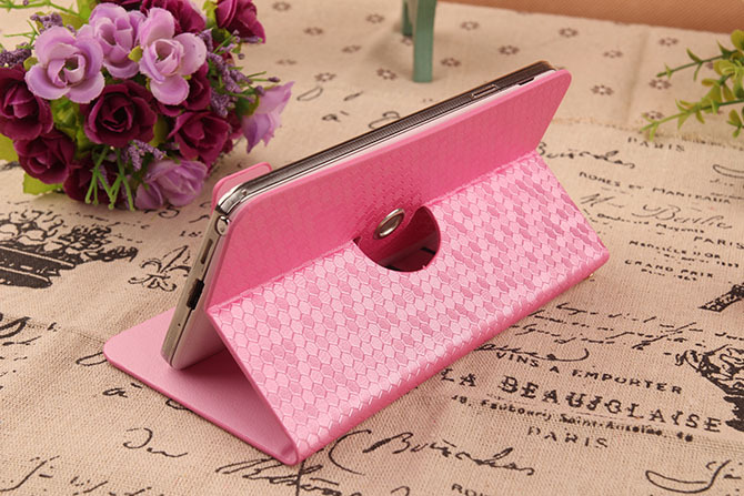 1X Hot Sale Fashion 360 Rotating Protective Cover Skin Flip-Book PU Leather Case With Card Holder For Haipai I9277 I9220(China (Mainland))