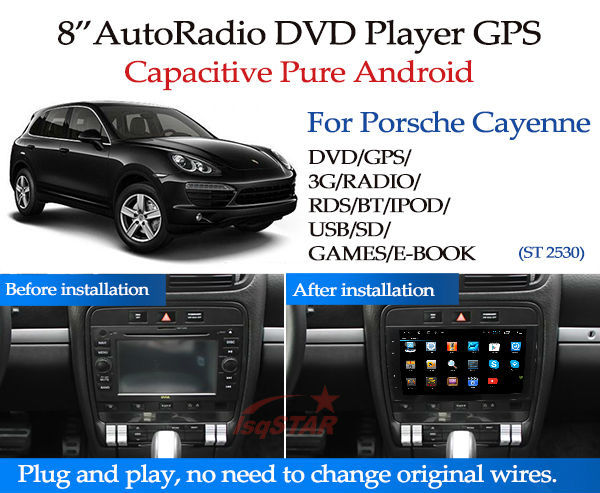 For Porsche Cayenne Car radio with Built-in WiFi/GPS Navi/FM/AM Radio/Bluetooth/Multimedia/USB/SD/AUX/Official Software Edit/SWC(China (Mainland))