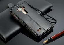 Luxury Stand Wallet  Leather Case For LG3 Phone Flip Leather with Card Holder Retro Deluxe Case for LG3