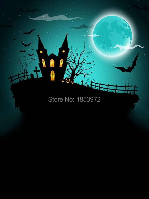5X7ft halloween scenic party background children font b studio b font Photography backdrops for font b