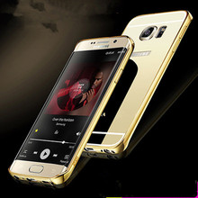 Buy Samsung Galaxy S7 edge Case Luxury Mirror Metal Aluminum Frame+Acrylic Back Cover S7edge Fundas Accessories Coque Capa for $2.99 in AliExpress store