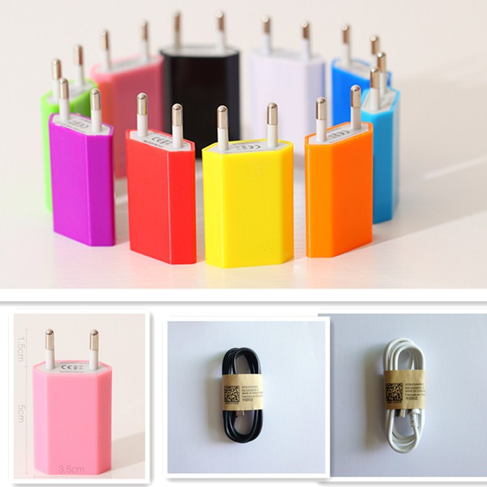 For HTC EVO Shift 4G Freestyle Fuze G2 G1 Nexus cable cord USB Wall Charger Adapter EU Plug Power + 1pcs Micro USB(China (Mainland))