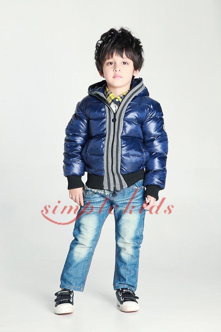 2014 winter male child short design jacket outerwear down coat fashion<br>