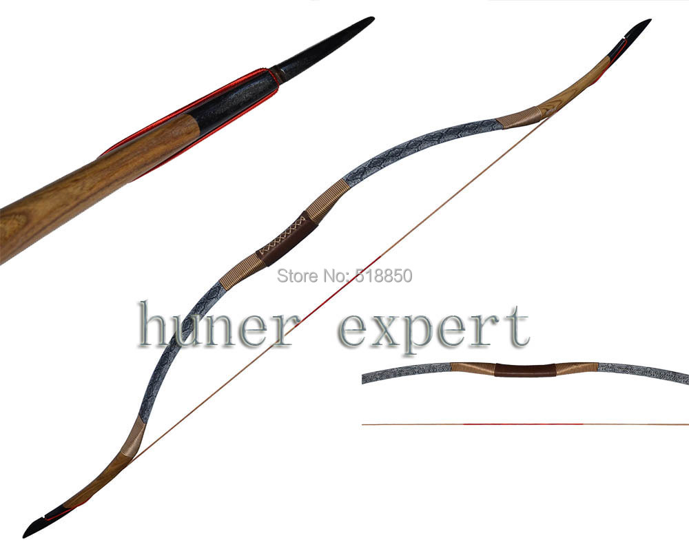 Фотография a traditional wooden bow 55