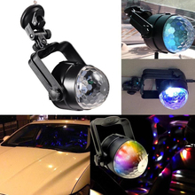USB Auto Disco DJ RGB LED Lamp Strobe Car Stage Light Party Bar Music Active Atmosphere Decoration Bulb(China (Mainland))