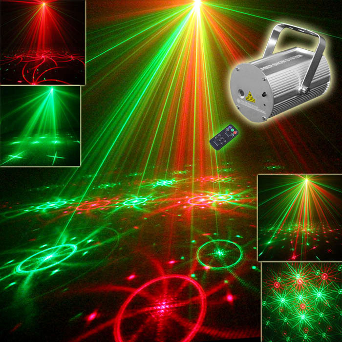 New Version Mini Projector Laser Flashlight Evening Party  RGB Effect Laser Disco Lights Friday Night Light