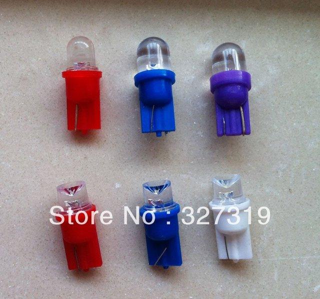 Freeshipping Wholesale Retail  20pcs T10 168 194 W5W 1.5W Side Car Light Wedge Bulb