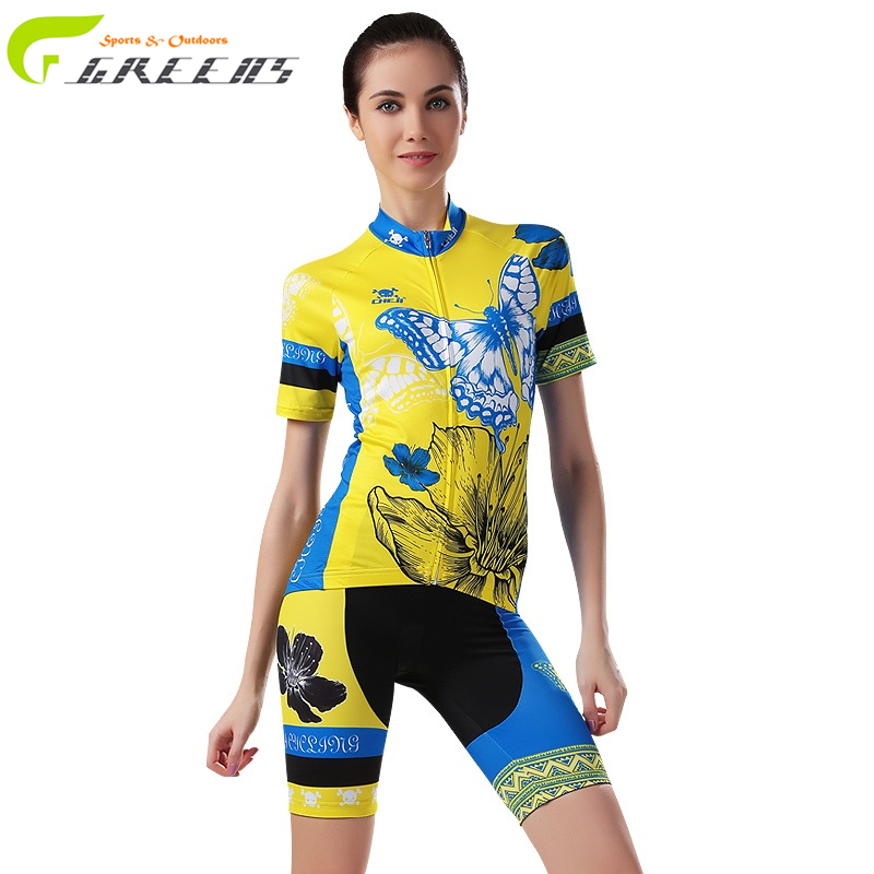 Women Cycling Clothing Ropa Ciclismo Pro Team Cycling Jersey Short Sleeve Bike Sports Clothing for Summer Breathable Quick Dry(China (Mainland))