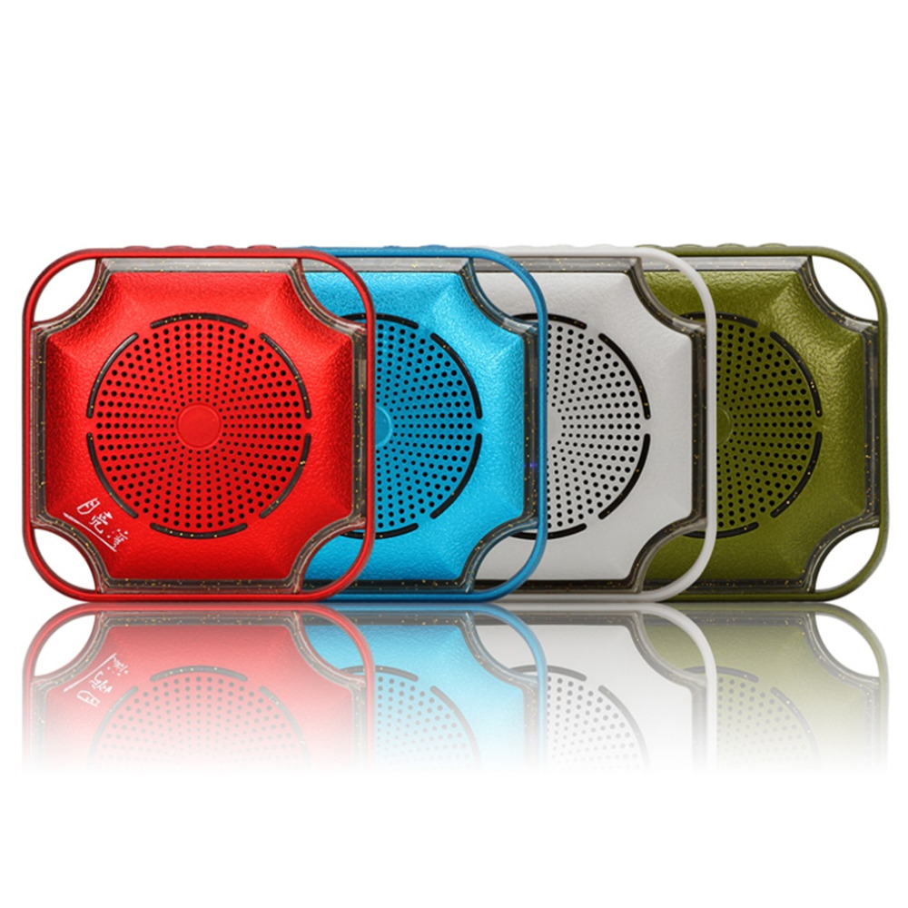 Environmental Outdoor Waterproof Mini Speaker Portable Wireless Bluetooth Stereo Speaker with Thermometer test card(China (Mainland))