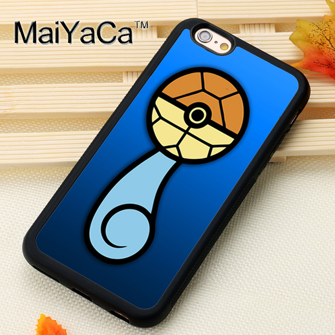 squirtle Poke Tail Printed Soft TPU Skin Cell Phone Cases For iPhone 6 6S Plus 7 7 Plus 5 5S 5C SE 4 4S Back Cover Shell(China (Mainland))