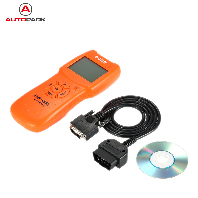 Universal OBD OBDII Auto Car Diagnostic Scan Tool 16-Pin Interface Code Reader Scanner With CD and Cable for Honda Toyota Opel(China (Mainland))