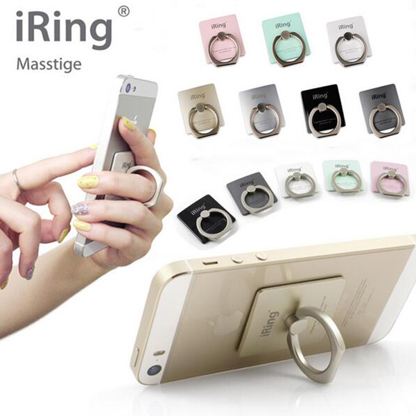 Provide LOGO Customization iRing Holder Universal Mobile Phone Holder 3D Metal Ring Stand Finger Grip Stand For IPhone Samsung(China (Mainland))