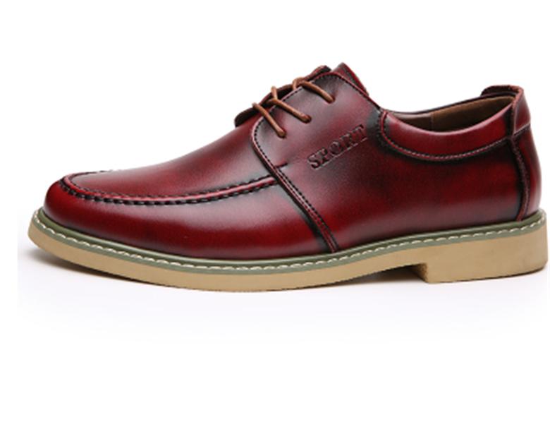 2016 New Oxford Shoes For Men Genuine Leather Shoes Mocasines Hombre Vintage Men Dress Shoes Formal Men Flats Zapatos Hombre<br><br>Aliexpress