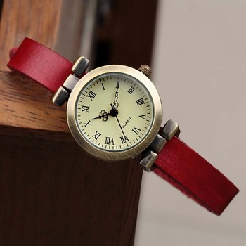 Genuine Leather ROMA Vintage Watch