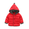 2 6Y Girls Jackets and Coats Winter Thickerwinter Children Cotton padded Hooded Jacket Children s Down