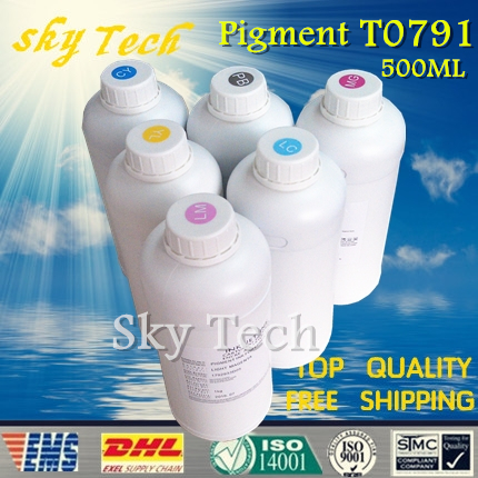 500ML*6 Pigment ink suit for Epson T0791 - T0796 ,suit for Epson 1400 1430 1430W PX700W PX800FW P50 ,water proof ink anti-UV<br><br>Aliexpress