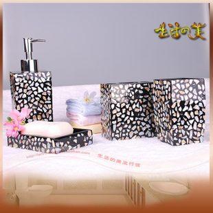 Gargarejo lavagem banho de resina embutidos textura de mármore conjunto elegante casa de banho louças sanitárias 4