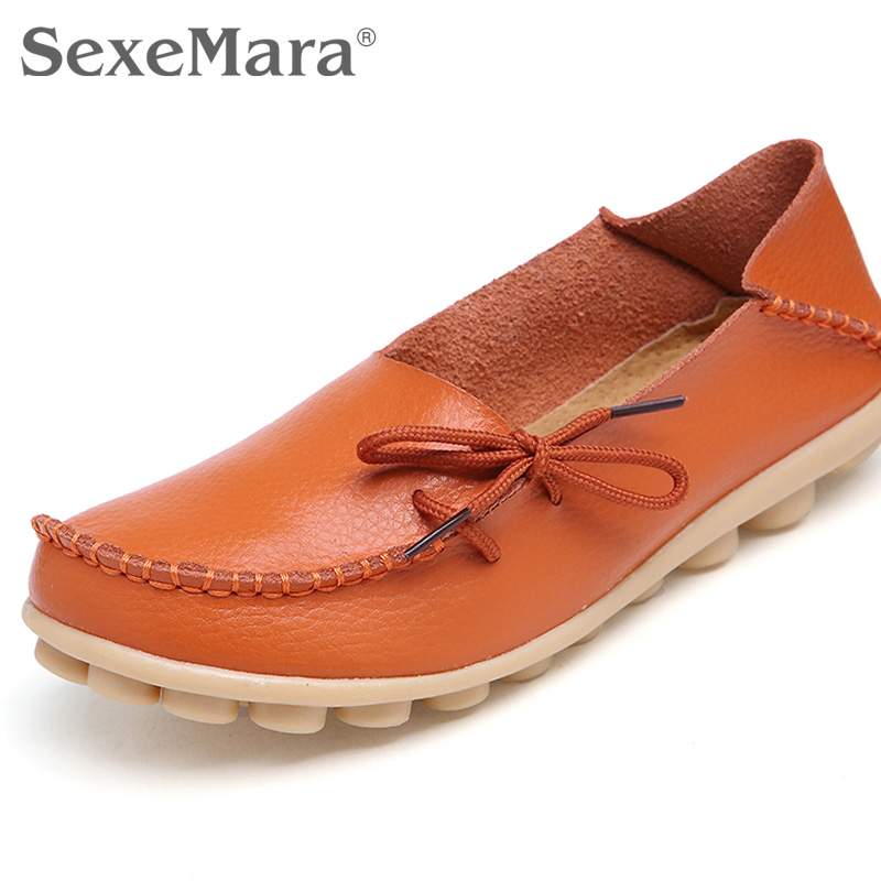 Compare Prices on Plus Size Women Shoes Genuine Leather- Online ...